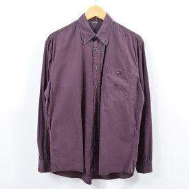 バーバリー Burberry's LONDON 長袖 ボタンダウンシャツ メンズL /wbg8602 【中古】 【190830】【PD2001】【CS2003】【【SS2003】】