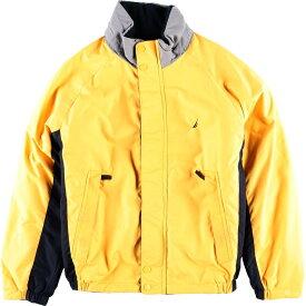 ノーティカ NAUTICA フード収納型 リバーシブル セーリングジャケット フリースジャケット メンズL /wbh7813 【中古】 【190905】