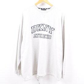 ダナキャランニューヨーク DKNY ロゴスウェット トレーナー メンズXL /wbh2432 【中古】 【190915】