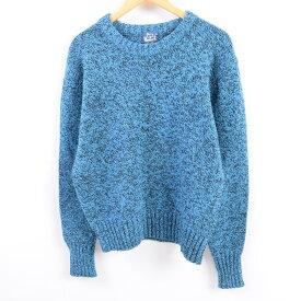 80s WOOLRICH ウールニットセーター