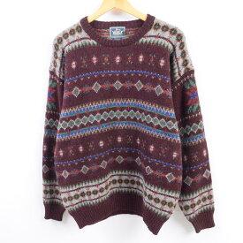 80〜90s WOOLRICHウールニットセーター
