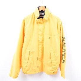 ノーティカ NAUTICA 袖ロゴ フード収納型 セーリングジャケット メンズL /wbh2317 【中古】 【190920】