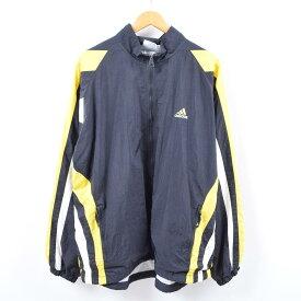 90年代 アディダス adidas ナイロンパーカー メンズL ヴィンテージ /wbh2462 【中古】 【190920】【PD191219】【CS2003】【SS2009】
