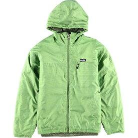 パタゴニア Patagonia マイクロパフフーデッドジャケット 83973F3 フーデッド 中綿ジャケット メンズL /wbi2881 【中古】 【191010】