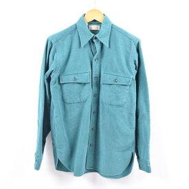 90年代 エルエルビーン L.L.Bean 長袖 シャモアクロスシャツ USA製 メンズM /wbi2842 【中古】 【191014】
