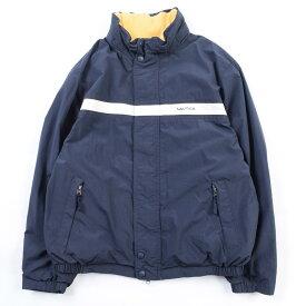 ノーティカ NAUTICA リバーシブル フード収納型 セーリングジャケット メンズL /wbi0436 【中古】 【191019】