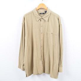 BOBBY CHAN 長袖 コーデュロイシャツ メンズXXL /wbk0710 【中古】 【191019】