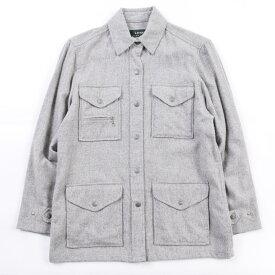 ラルフローレン Ralph Lauren LAUREN ローレン ウールシャツジャケット レディースM /wbh6507 【中古】 【191024】