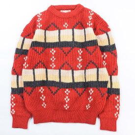 60〜70s CREEKSウールニットセーター