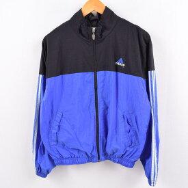 90年代 アディダス adidas ナイロンジャケット レディースM /wbk5299 【中古】 【191102】