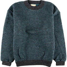 80s L.L.Bean ウールニットセーター