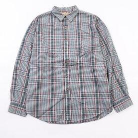 80年代 エルエルビーン L.L.Bean 長袖 ボタンダウンチェックシャツ メンズXL ヴィンテージ /wbk3169 【中古】 【191108】
