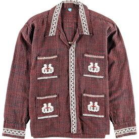 グアテマラ刺繍 グアテマラシャツ メンズM /wbk3831 【中古】 【191109】【PD191219】【CS2001】【【SS2003】】