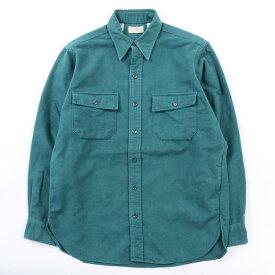 80年代 エルエルビーン L.L.Bean 長袖 シャモアクロスシャツ USA製 メンズM ヴィンテージ /wbj9795 【中古】 【191111】