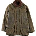 90年代 バブアー Barbour BEDALE ビデイル 旧3ワラント ワックスコットン オイルドジャケット 英国製 C38 メンズM /wbj8184 【中古】 …
