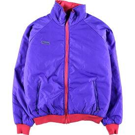 90年代 コロンビア Columbia リバーシブル 中綿ジャケット メンズL /wbj7857 【中古】 【191118】