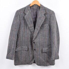 バーバリー Burberry's ヘリンボーン テーラードジャケット 英国製 40R メンズM /wbj6836 【中古】 【191124】【PD1912】【CS2003】【【SS2003】】