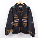 グッドコンディション 80年代 ペンドルトン PENDLETON HIGH GRADE WESTERN WEAR ネイティブ柄 ウールジャケット USA製 メンズXL ヴィン…