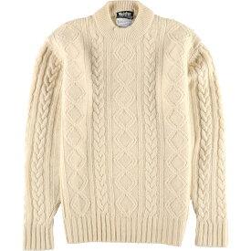 meister ウールニットセーター