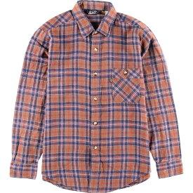 70~80年代 リーバイス Levi's チェック柄 長袖 ライトネルシャツ USA製 メンズS ヴィンテージ /wbj2467 【中古】 【191208】