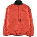 希少サイズ 00年製 パタゴニア Patagonia パフボールプルオーバージャケット 84004 FA00 ハーフジップ 中綿ジャケット メンズXS /wca00…