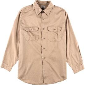 70年代 ジェイシーペニー J.C.Penney BIG MAC ビッグマック 長袖 ワークシャツ メンズL ヴィンテージ /wca003135 【中古】 【200111】【PD2003】【SS2007】【CS2007】【SS2009】