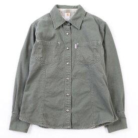 カーハート Carhartt ダック地ワークシャツジャケット レディースL /wca003554 【中古】 【200112】