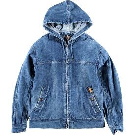 80年代 イヴサンローラン Yves Saint Laurent SPORT デニムパーカー メンズM ヴィンテージ /eaa002730 【中古】 【200127】