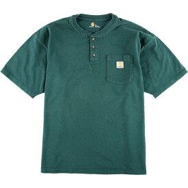カーハート Carhartt ワンポイントロゴポケットTシャツ XL メンズ2XL /eaa012036 【中古】 【200302】