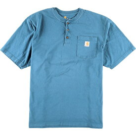 カーハート Carhartt ワンポイントロゴポケットTシャツ メンズ2XL /eaa011376 【中古】 【200302】