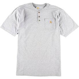 カーハート Carhartt ワンポイントロゴポケットTシャツ メンズXL /eaa012086 【中古】 【200301】
