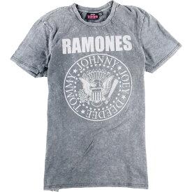 1234 RAMONES ラモーンズ アシッドウォッシュ バンドTシャツ メンズM /eaa012279 【中古】 【200305】【SS2009】【JS2010】