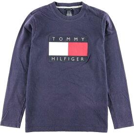 トミーヒルフィガー TOMMY HILFIGER ロングTシャツ ロンT メンズXS /eaa015466 【中古】 【200315】【JS2010】