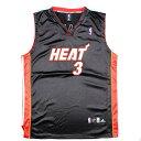 アディダス adidas NBA MIAMI HEAT マイアミヒート DWYANE WADE ドウェインウェイド ゲームシャツ レプリカユニフォー…