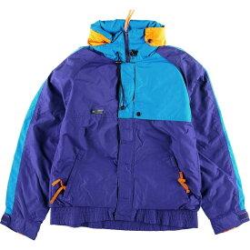 80年代 コロンビア Columbia Criterion フード収納型 マウンテンジャケット メンズL ヴィンテージ /eaa018252 【中古】 【200405】