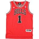 アディダス adidas NBA CHICAGO BULLS シカゴブルズ DERRICK ROSE デリックローズ ゲームシャツ レプリカユニフォーム…