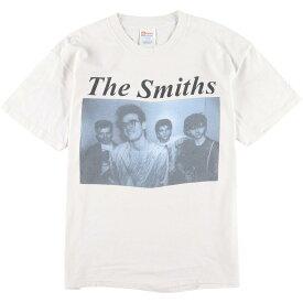 90年代 ヘインズ Hanes THE SMITHS ザスミス バンドTシャツ メンズL ヴィンテージ /eaa022027 【中古】【N2005】 【200418】【SVTG】