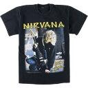 90年代 NIRVANA ニルヴァーナ バンドTシャツ メンズM ヴィンテージ /eaa024846 【中古】 【200517】【JS2010】