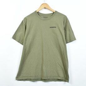 パタゴニア Patagonia プリントTシャツ メンズL /eaa030774 【中古】 【200514】