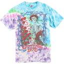 90年代 フルーツオブザルーム FRUIT OF THE LOOM GRATEFUL DEAD グレイトフルデッド スカル&ローズ タイダイ柄 バンドTシャツ USA製 メ…