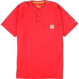 カーハート Carhartt ORIGINAL FIT ヘンリーネックTシャツ メンズL /eaa050701 【中古】 【200622】【SS2009】【JS2010】【SS2012】【KF2012】【SS2101】【CS2101】【SS2103】【SS2106】