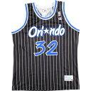 チャンピオン Champion NBA ORLANDO MAGIC オーランドマジック SHAQUILLE O'NEAL シャキールオニール ゲームシャツ レ…