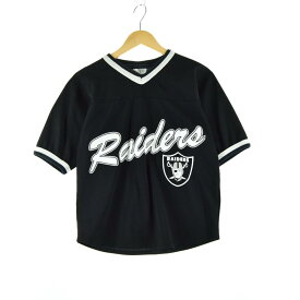 NFL RAIDERS レイダーズ ゲームシャツ フットボールシャツ レディースM /eaa058184 【中古】 【200713】【SS2009】【JS2010】【SS2012】
