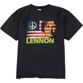 アンビル anvil JOHN LENNON ジョンレノン バンドTシャツ メンズL /eaa060811 【中古】 【200717】【SS2009】
