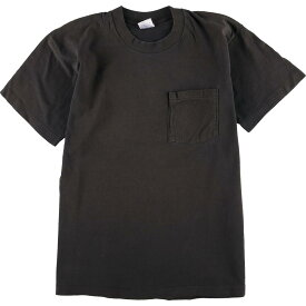 90年代 BVD 無地ポケットTシャツ USA製 メンズM ヴィンテージ /eaa064569 【中古】 【200730】