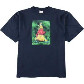 ALORE プリントTシャツ USA製 メンズXL /eaa067700 【中古】 【200802】【SS2009】【JS2010】【SS2012】【SS2103】