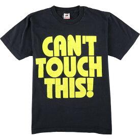 90年代 フルーツオブザルーム FRUITS OF THE LOOM プリントTシャツ USA製 メンズM ヴィンテージ /eaa076920 【中古】 【200831】【JS2010】【SS2103】【SS2106】