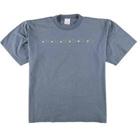90年代 ALORE プリントTシャツ USA製 メンズXL ヴィンテージ /eaa076922 【中古】 【200831】【JS2010】【SS2103】