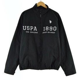 U.S.POLO ASSN ブルゾン メンズL /eaa080526 【中古】 【200918】【SS2103】【2b10f】