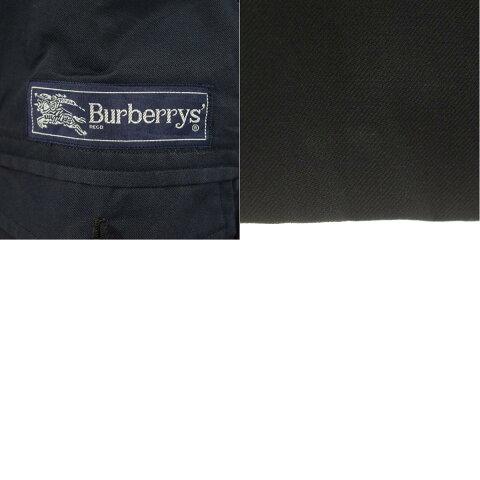 バーバリーBurberry'sダブルブレストピークドラペルウールチェスターコートメンズM/eaa096660【中古】【201120】
